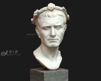 戴着花环的男人石膏头像,男人3d模型,古罗马希腊雅典宗教神话人物,雕像青铜像雕塑