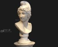 罗马石膏像,男人头像雕像青铜像雕塑,古罗马希腊雅典宗教神话人物