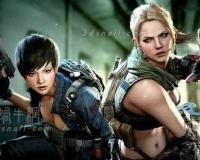 《Sudden Attack2》《突击风暴》女主角3d模型合集
