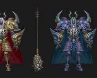 大魔王变色两款,幽冥使者,骷髅王,夜叉王,怪物,魔物