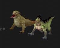 蜥蜴人,蜥蜴怪物,魔物,沙漠怪物