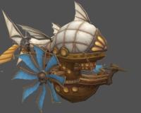 奇幻飞艇2,飞船,木船