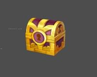 黄金宝箱,宝藏,宝箱子,金箱子