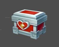 白银宝箱,银箱子,红心宝箱,宝藏,宝箱
