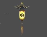 古代灯笼,黄色灯笼