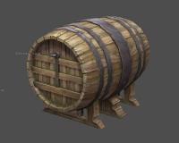 酒庄酒桶,大型木桶